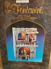 FONTANINI CITY WALLS LIGHTED TWO STORY BUILDING 5 SERIES HEIRLOOM RARE 55504