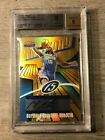 25 carmelo anthony 2003-04 topps finest gold refractor auto sp BGS 9 RC ROOKIE