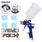 Hvlp Auto Paint Air Spray Gun Kit Gravity Feed Car Primer 1.40.8mm Nozzlecase