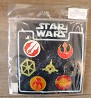 Disney Star Wars 7 Pin Set Booster Collection DISNEY PIN Trading Starter Set