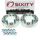 2pc 5x5 to 5x45 Wheel Spacers Adapters 15 for Jeep Commander Grand rt