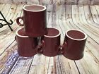 Fiesta Ware Tom And Jerry Mugs Set of 4 Cinnabar  Fiestaware