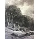 Gustave Golden Engraving the Idylls of King Alfred Tennyson 1869 Arthur Xixth