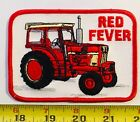 VINTAGE patch Red Fever IH Case Farmall Tractor farming agiculture OLD OG