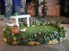 FONTANINI GARDEN SCENE 2004 NATIVITY SET 5 SERIES VILLAGE ACCESSORY 56575