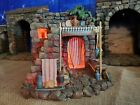Fontanini Pottery Shop Lighted Building for 5 Scale Nativity Set Box Styro