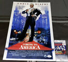 EDDIE MURPHY SIGNED AUTOGRAPHED 12x18 'COMING TO AMERICA' POSTER JSA COA + PROOF