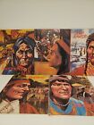Gallery of Great Americans Series Native Americans 5 Children Hardcover Books