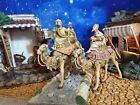 Fontanini Three Kings Wisemen on Camels 5 Nativity Set Heirloom Vintage 1983