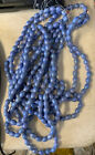 Glass Beads Violet AB Oval 14x10mm 5 Strands 32 Bead Strands 160 Beads