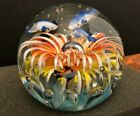 Gorgeous Big Large Dolphin Fish Sea Life Art Glass Paperweight Aquarium 5