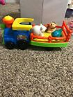 Fisher Prices Little People Zoo Animal  Train Playset