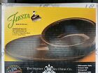 fiestaware chocolate Platter And Small Vegetable Bowl Set