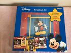 Boxed Disney Mickey Mouse Scrapbook Kit 12x12 Album w Matching paper stickers