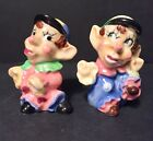 vintage salt and pepper shakers japan 3 Inches Wacky HOBO CLOWN Beanie Guys