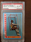 1974 Topps Evel Knievel Ascent to Danger #46 PSA Grade Excellent-Mint