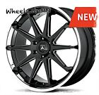 22 x10 black milled chrome Asanti Emperor ABL29 fits Ford F150 Expedition 6x135