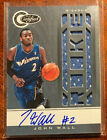 John Wall 2010-11 Totally Certified SILVER Auto Jersey Rookie #151 530 599 RPA