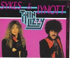 JOHN SYKES & PHIL LYNOTT THIN LIZZY CD ALBUM THUNDER & LIGHTNING HARD ROCK
