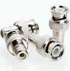 34 Nickel-Plated & 15 Gold-Plated Male Coaxial BNC to Female RCA/Phono Adapters