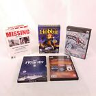 Lot 5 Vtg Small Box PC Computer Games Hobbit Rollercoaster Tycoon Missing LH