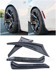 For 16 Up Camaro  GM Extended Texture BLACK Front  Rear Splash Guards Mud Flap
