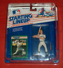 1989 Ed Starting Lineup Carney Lansford 3B Oakland A's Athletics In Display Case