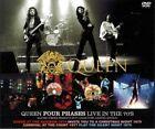 QUEEN FOUR PHASES LIVE IN THE 70'S DVD MASTER STROKE ROCK BAND FREDDIE MERCURY