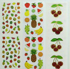 Mrs Grossman FRUITS MICRO  SMALL Misc Sticker Strips You Choose
