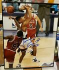 HORACE GRANT Signed Chicago Bulls The Block to Win 1993 NBA Finals 8x10 SCHWARTZ