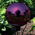 Sunnydaze Merlot Mirrored Surface Glass Outdoor Garden Gazing Ball Globe 10