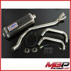 Set Exhaust Complete Manifold End Kawasaki ZXR 250 C 1993-2013 Exps 0048