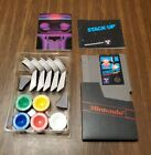 Stack-Up Nintendo NES  **Authentic ** Game Manual and Blocks