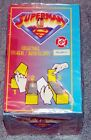 1996 Skybox DC Comics Superman Collectible Stickers sealed Box of