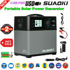 Suaoki PS5B 400Wh Portable Solar Power Generator Supply Inverter Energy Storage