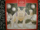 NIB 7 TALL LENOX FIRST BLESSING NATIVITY CAMEL AMETHYST 760384