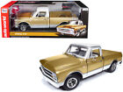 1968 CHEVROLET C 10 FLEET SIDE PICKUP TRUCK GOLD 1 18 DIECAST AUTOWORLD AMM1165