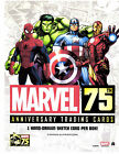 Marvel 75th Anniversary 12 Box case sealed SKETCH IN AVERY BOX