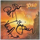 DIO Last in Line, FULLY SIGNED Ronnie James Jimmy Bain Rainbow Sabbath AUTOGRAPH