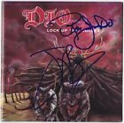 DIO Lock Up the Wolves, RONNIE JAMES Bain Rainbow Black Sabbath Autograph SIGNED