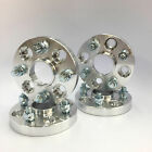 4 PC Hub Centric Wheel Spacers 4x100 to 4x100 571 CB 12X15 20MM Thick Adapters