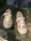 Coach Barrett Beach Print Athletic Sneakers SZ 6.5