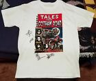 Gotham Road SIGNED Comic book T Shirt L Michale Graves of the Misfits RARE