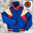 Vintage 80s MOUNTAIN GOAT White Stag Quilted Duck Down Fill Puffer Ski Jacket M