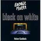 Goebbels, Heiner : Goebbels: Black on White CD Expertly Refurbished Product