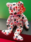 BEANIE BABIES    RED THE INDEPENDENCE DAY BEAR    MINT W/ MINT TAG