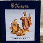 Fontanini Roman The Holy Family 5 71503 Collection Christmas 2019 New In Box