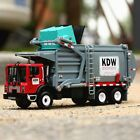 Alloy KDW Transporter 124 Scale Diecast Vehicle Car Garbage Truck Model Toys