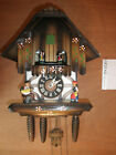 Cuckoo Clock Schmeckenbecher German made SEE VIDEO Musical Chalet 1 Day CK2542