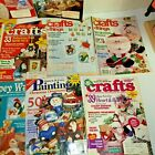 Lot retro Craft Idea Magazines Books Crafts Ideals Clay Painting Woodworking